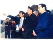 2000年3月20日,时任国务院副总lide吴邦国视察gong司