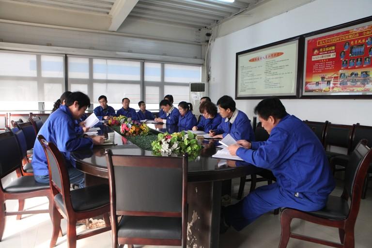 金属分公司纪委完成对各单位年终党风廉政建设责任制考核工作