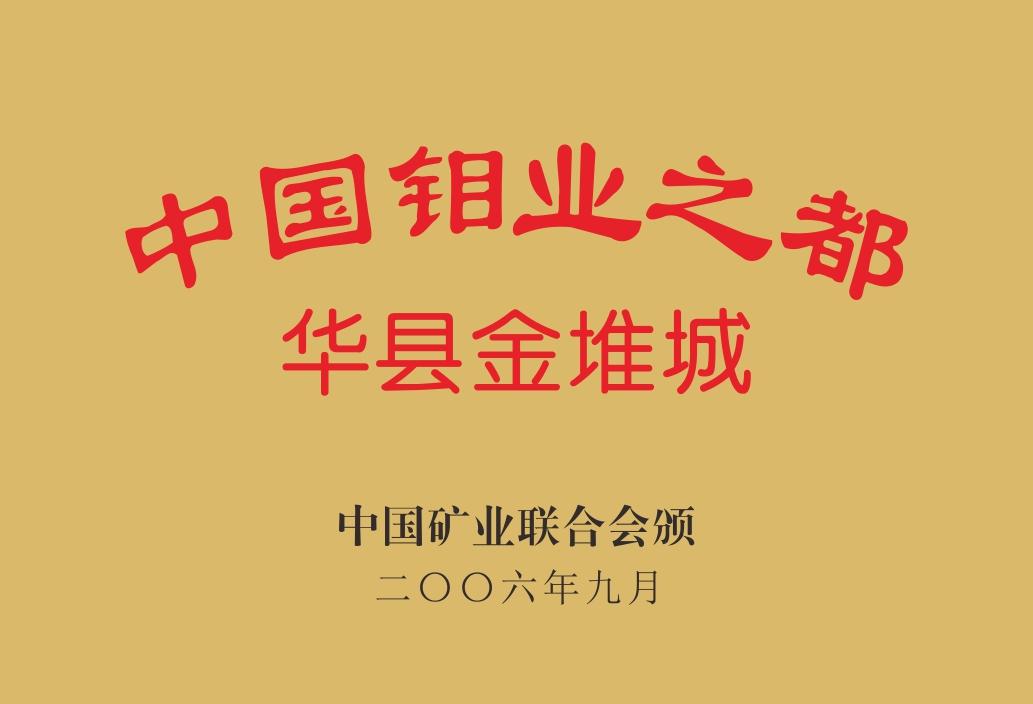 中国钼业之都